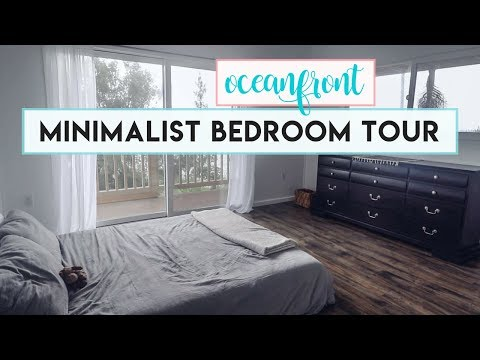 MINIMALIST BEDROOM TOUR IN HAWAII