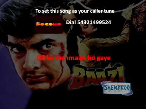 Romantic Mobile Ring Tone  | Dheere Dheere Aap Mere | Baazi | Aamir Khan video