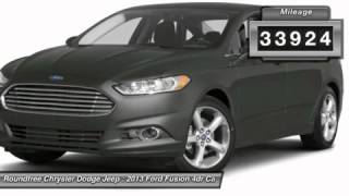 2013 FORD FUSION Jackson, MS DR331343
