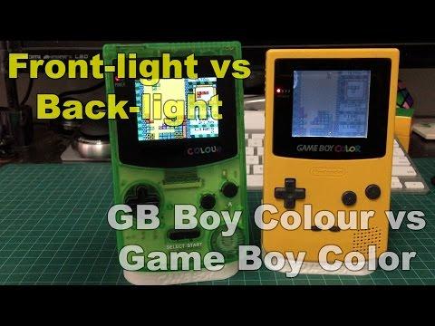 GB Boy Colour vs GameBoy Color