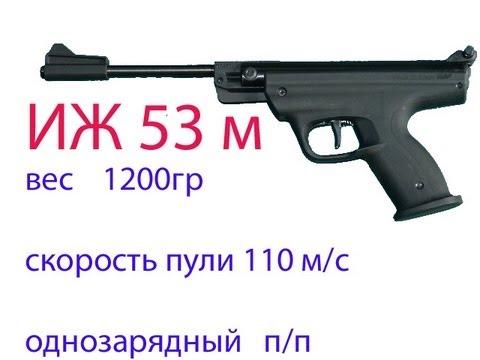 Пневматический пистолет ИЖ