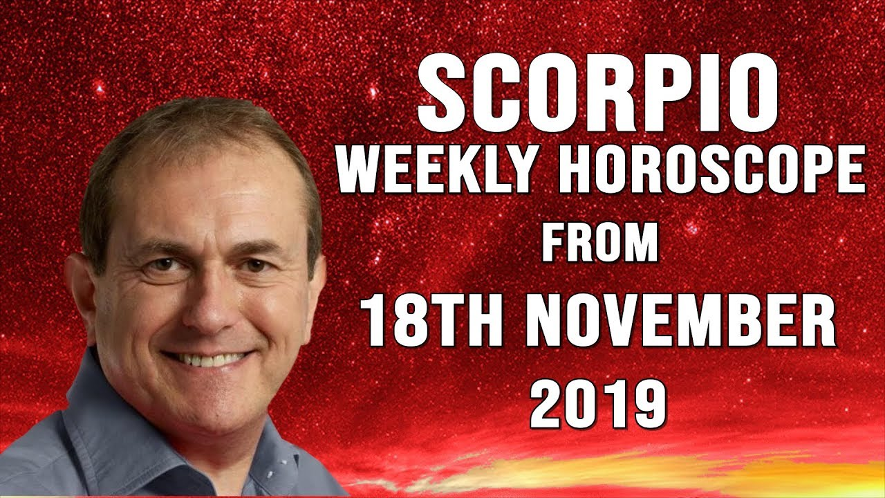 Weekly Horoscopes from 18th November 2019