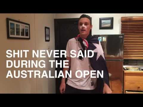 Shit never said during the Australian Open (2015)