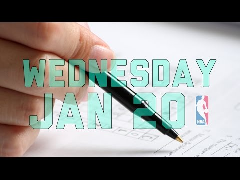 NBA Daily Show: Jan. 20 - The Starters