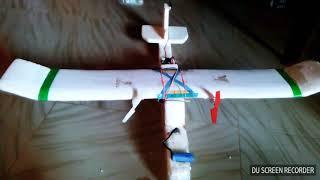 Homemade rc plane||rc plane||How to make rc plane||Thermocol rc plane