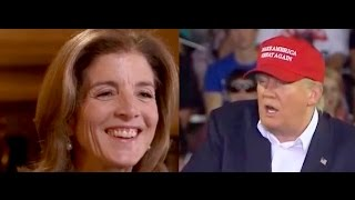 I Found the Caroline Kennedy Interview Trump Keeps Mentioning!
