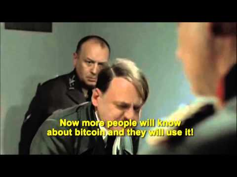 Hitler finds out Bitcoin survived Mt.Gox crash