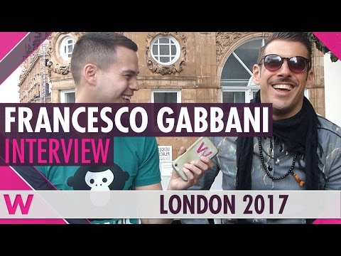 Francesco Gabbani (Italy 2017) Interview | London Eurovision Party 2017
