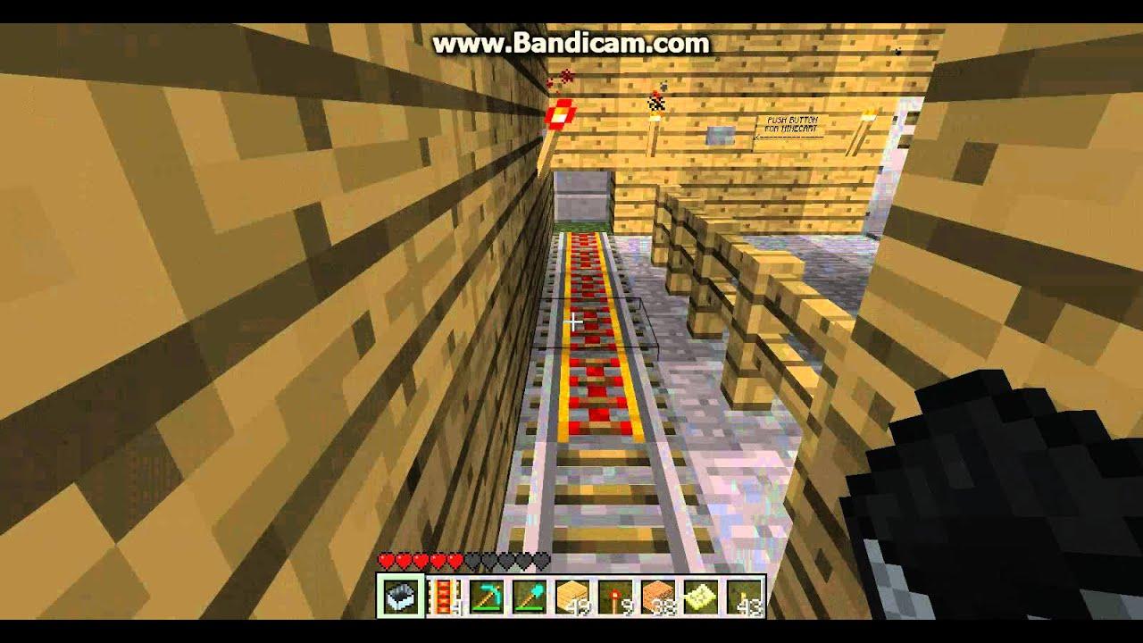 Minecart Tracks Minecart Station Track