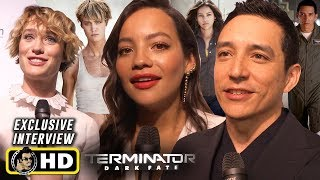 Terminator: Dark Fate interviews from CinemaCon 2019!