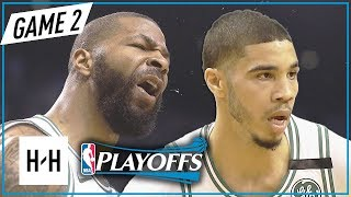 Marcus Morris & Jayson Tatum Full Game 2 Highlights vs Cavs 2018 NBA Playoffs ECF - 23 Pts Combined!