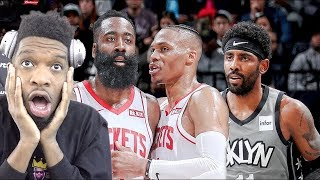 WHAT THE HELL JUST HAPPENED!? NETS vs ROCKETS HIGHLIGHTS