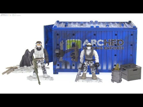 Mega Construx Call of Duty Arctic Recon Armory review