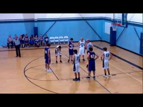 Josh Bray FULL GAME - vs Helena Christian School - 12/04/2012