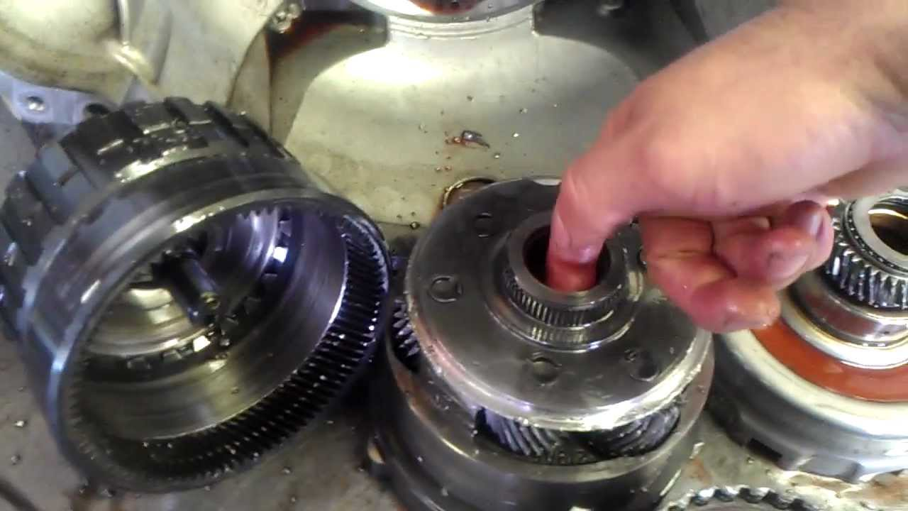 4r75e Transmission Severe Geartrain Damage Transmission