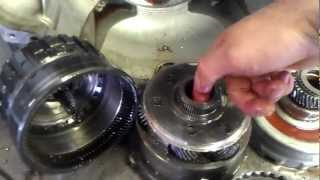 4R75E Transmission, Severe Geartrain Damage - Transmission Repair