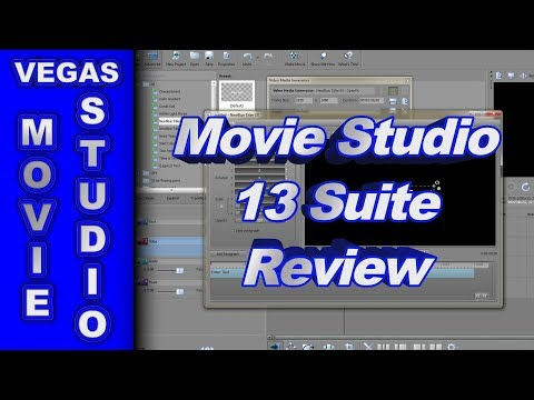 Review of Sony Movie Studio Suite 13