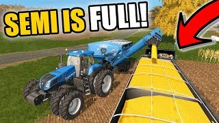 FARMING SIMULATOR 2017 | ALL THE SEMIS ARE FULL... WE HAD TO SHUT DOWN | EP #39