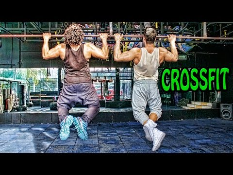 CROSSFIT SPORT MODEL JULIAN ZAMBRANO Y BODYBUILDER JOSE LUIS MONTES MR MEXICO | IFBB