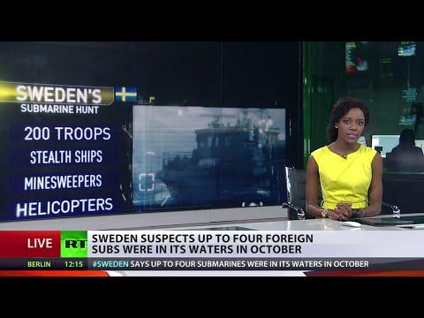 Hide & Seek: Sweden suspects 4 subs were in its waters in October