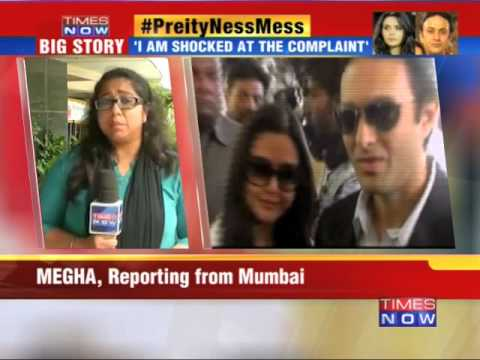 Mumbai Police Launch Probe In Preity Zinta 'molestation' Case video