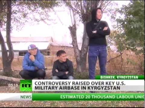New Kyrgyz president wants US base out - RussiaToday (Dec 2, 2011)