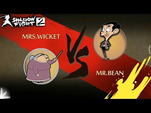 Shadow Fight 2 Mr.Bean Vs Mrs. Wicket