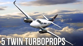 The Best Twin Turboprop Airplanes In The World