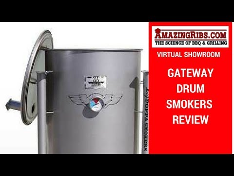 Watch This Gateway Drum Smoker Review - Part 1 of 2