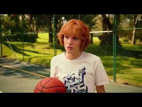 Bella Thorne- Blended Movie ( Basketball funny Scene)