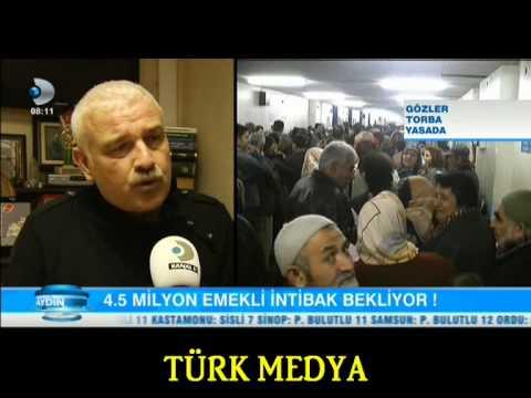 EMEKLİLİKTE YAŞA TAKILANLAR-ALİ TEZEL-KD-GÜNAYDIN-(08/01/2014)-TÜRK MEDYA SUNAR.