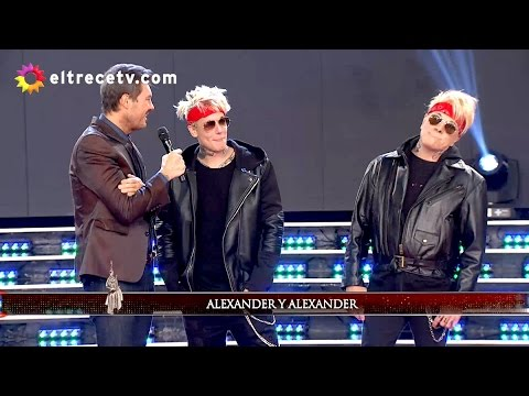 El regreso de Alex Caniggia al Bailando para alentar a su hermana y la prueba de alcoholemia a la rubia