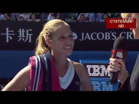 Dominika Cibulkova VS Agnieszka Radwanska Highlight 2014 Australian Open SF