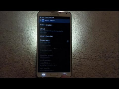 Samsung Galaxy Flashing Light Notification [updates in description]