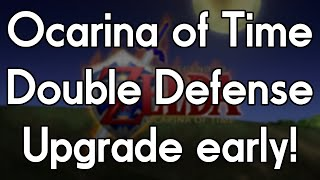 Zelda: Ocarina of Time  -  How to get the Double Defense upgrade early!