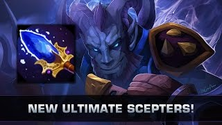 Dota 2 New Ultimate Scepter Upgrades - Patch 7.00