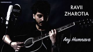 Humnava (Cover) Unplugged Version by Ravii Zharotia | Chordsguru