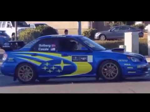 Subaru Impreza WRX STi Rally Racing Car