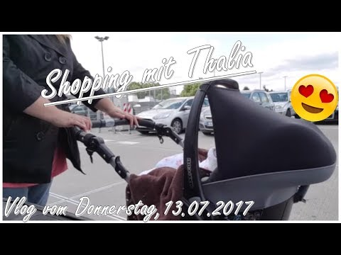 Shopping with Thalia! / Shoppen mit Thalia! || Reborn Baby Deutsch || Little Reborn Nursery