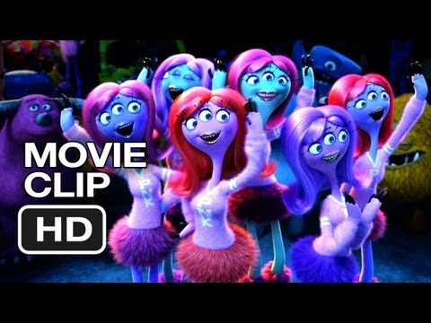 Monsters University Movie CLIP - Scare Games (2013) - Billy Crystal Movie HD