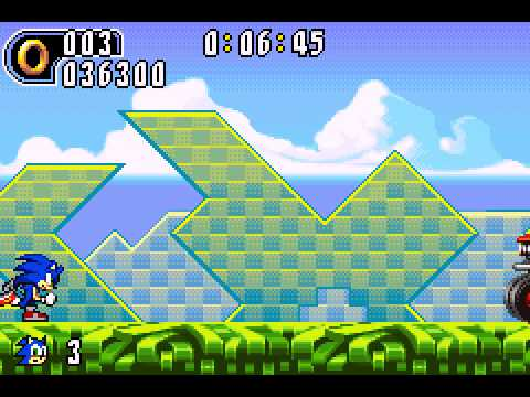 Sonic Advance 2 - Sonic Advance 2 (GBA) - ThorntonS PLAY!! - User video