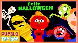 Es Halloween - Canción Infantil   Pueblo Teehee