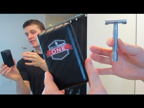 Micro Touch One Safety Razor - Shave Review