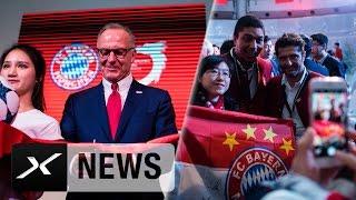Mia san Shanghai! FC Bayern eröffnet Büro in China | FC Bayern München