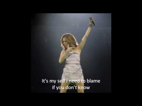 Celine Dion - Celine Dion- Right next to the right one with lyrics on screen