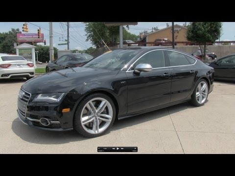 2013 Audi S7 Sportback Prestige Start Up. Exhaust. and In Depth Review