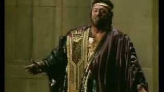 Celeste Aida Luciano Pavarotti From Verdi 39 S Aida