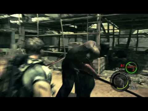 Resident Evil 5/Biohazard 5 gameplay E3-08 Shanty town/Assembly plalce Resident Evil 5/Biohazard 5 gameplay foootage E3 2008assualt cool xbox 360 game helps ...