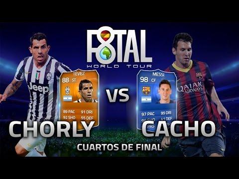 FIFA 15 | F8TAL WORLD TOUR | MESSI TOTY VS TEVEZ MOTM | VS CHORLY