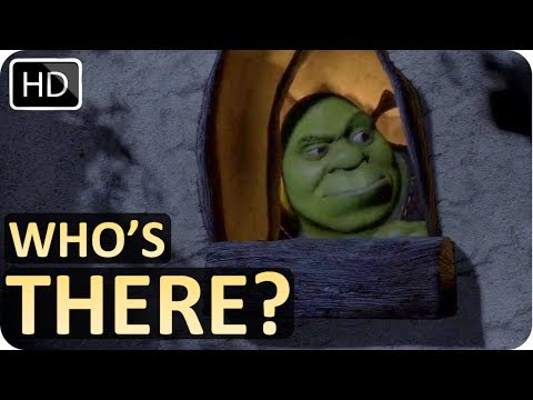 Shrek Peeking Through Window | Scene From Shrek (2001)